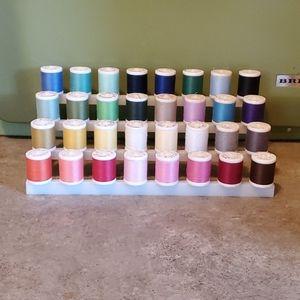 Vintage Midcentury Sewing Thread & Stand